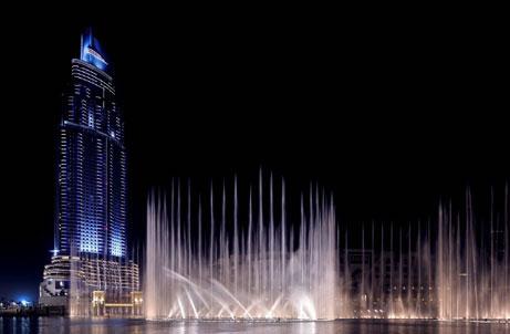 """Màn biểu diễn nhạc nước """"có một không hai"""" ở Dubai - 1"""