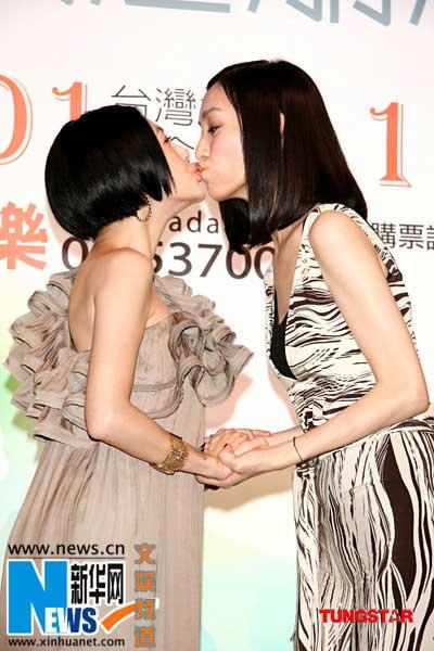 """Mỹ nhân Hoa ngữ """"khoái"""" hôn nhau - 7"""