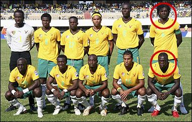 """Video + Ảnh """"nóng"""" nhất vụ thảm sát các cầu thủ Togo tại CAN 2010 - 5"""