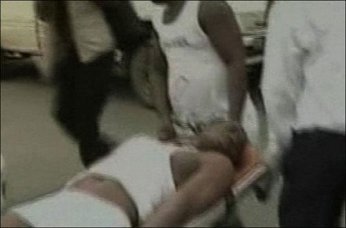 """Video + Ảnh """"nóng"""" nhất vụ thảm sát các cầu thủ Togo tại CAN 2010 - 2"""