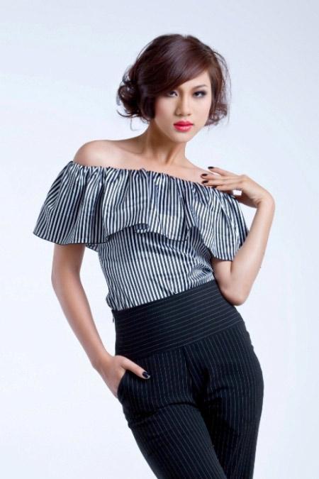 Siêu mẫu Kim Dung mặc gì ngày Tết? - 3
