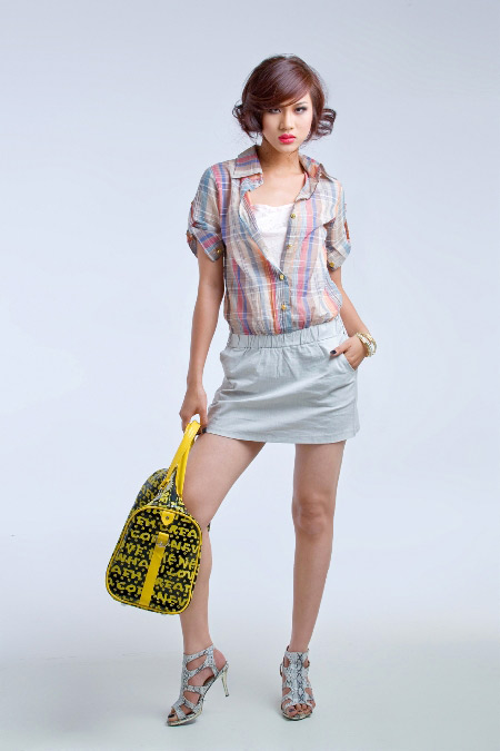 Siêu mẫu Kim Dung mặc gì ngày Tết? - 12
