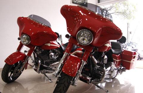 Bộ đôi Harley Davidson CVO Street Glide về Việt Nam - 3