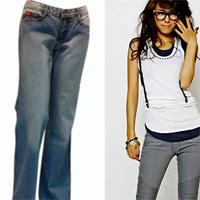 Phối đồ với quần jeans