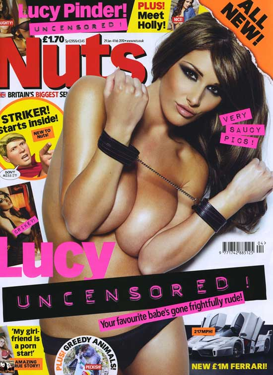 Lucy Pinder li phi ngc trn, Thi trang, 