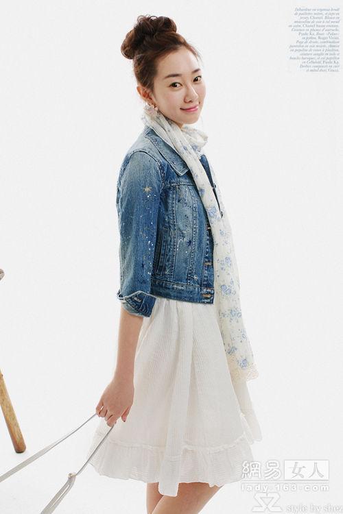 Sành điệu cùng áo jean - 3