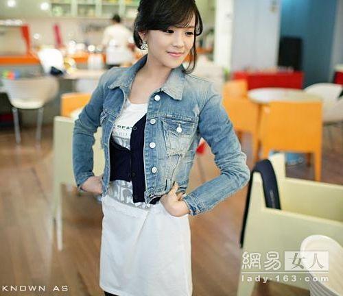 Sành điệu cùng áo jean - 5