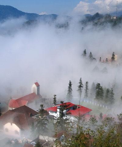 Mây núi Sa Pa đẹp như tranh thủy mặc - 3
