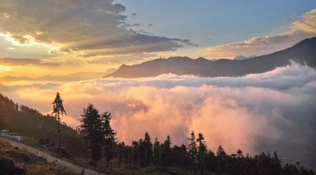 Mây núi Sa Pa đẹp như tranh thủy mặc - 5