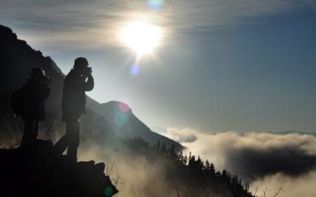Mây núi Sa Pa đẹp như tranh thủy mặc - 9