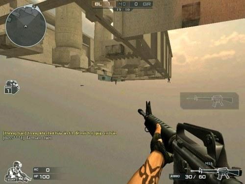 """Video: Hack game""""Siêu nhân"""" Đột Kich - 1"""