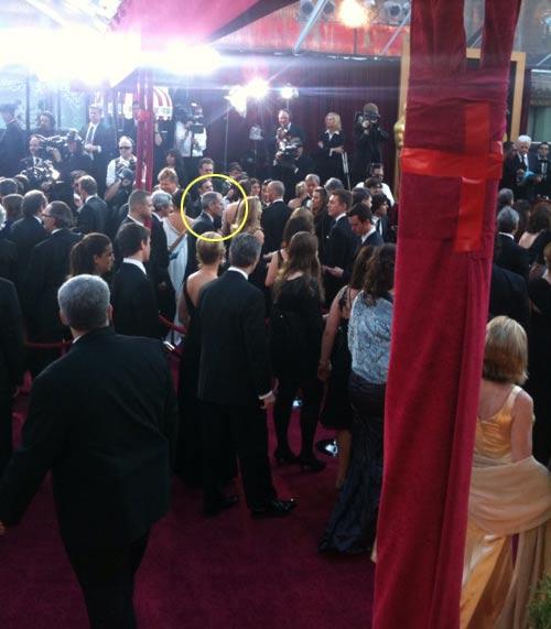 Steve Jobs tham dự Oscar 82 - 1