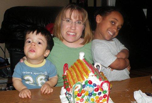 Gia đình người lùn hạnh phúc - 4