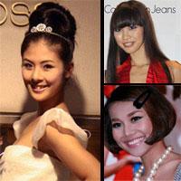 Ngắm thời trang tóc của mỹ nhân Việt!