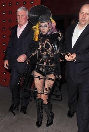 """Lady Gaga sợ """"thất truyền"""" sự quái dị - 8"""