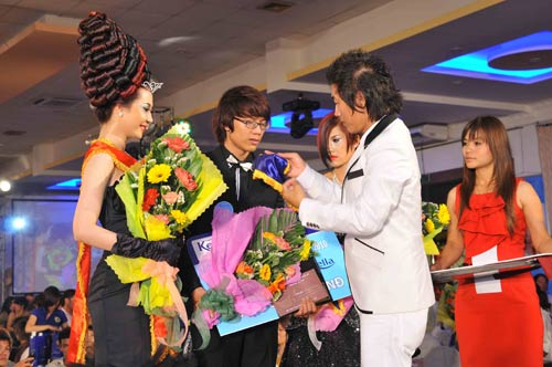 Lễ giỗ tổ ngành tóc Việt Nam và cuộc thi tìm kiếm tài năng tạo mẫu tóc lần 4 năm 2010 - 3