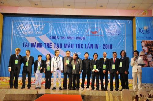 Lễ giỗ tổ ngành tóc Việt Nam và cuộc thi tìm kiếm tài năng tạo mẫu tóc lần 4 năm 2010 - 2