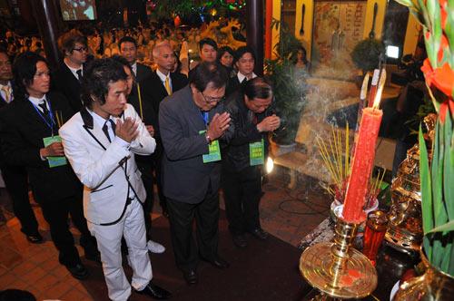 Lễ giỗ tổ ngành tóc Việt Nam và cuộc thi tìm kiếm tài năng tạo mẫu tóc lần 4 năm 2010 - 4