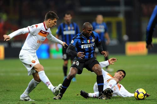 Roma  Inter: Ngng ca SINH - T, Bng  , Bng , Roma, Inter, Mourinho, Serie A, Scudetto, Totti, Milan, Eto'o
