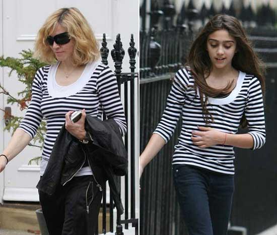 Con gái Madonna dạy mẹ cách ăn mặc - 7