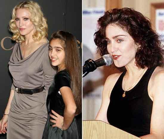 Con gái Madonna dạy mẹ cách ăn mặc - 9