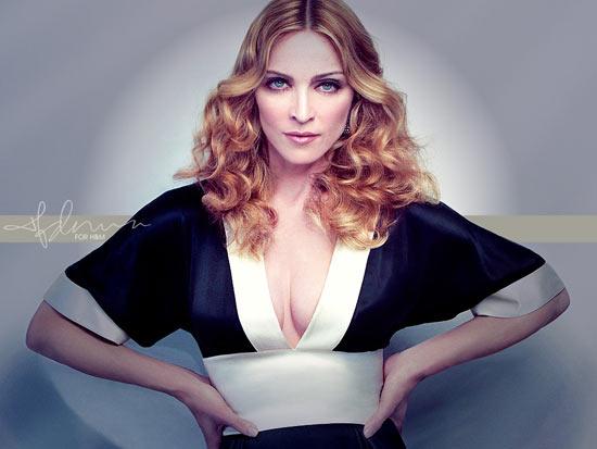 Con gái Madonna dạy mẹ cách ăn mặc - 1