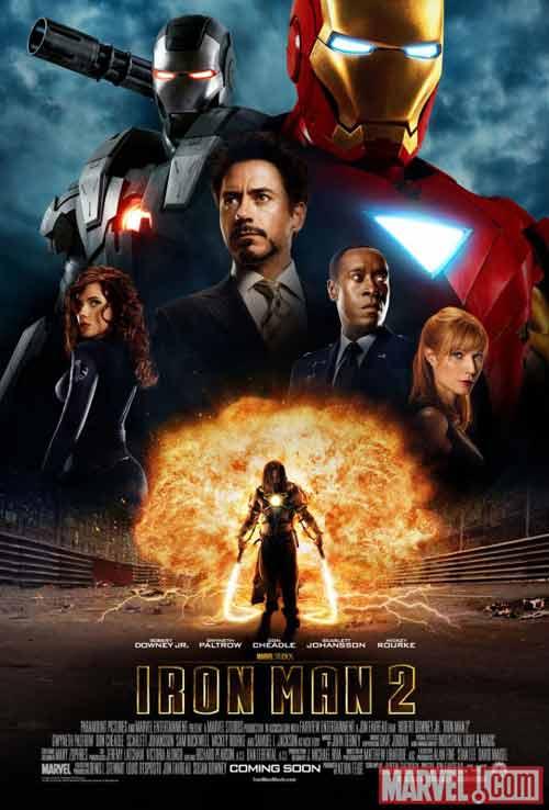 Iron Man 2 lộ hình ảnh và trailer hàng khủng - 1