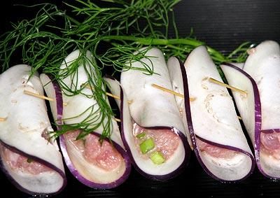 Cà tím cuộn thịt chiên xù - 5