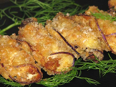 Cà tím cuộn thịt chiên xù - 8