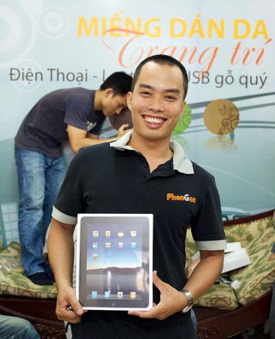 iPad về Việt Nam với giá bao nhiêu? - 1