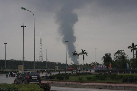 Cận cảnh vụ cháy lớn ở Hà Đông - 1