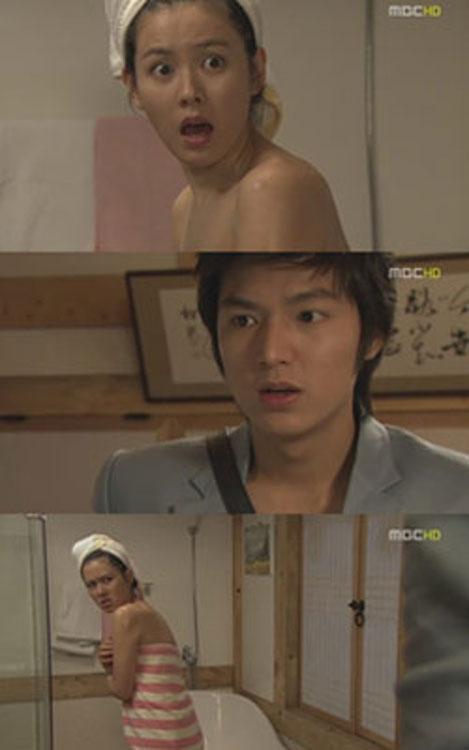 """Nóng mắt xem sao Hàn """"tắm"""" trong phim - 4"""