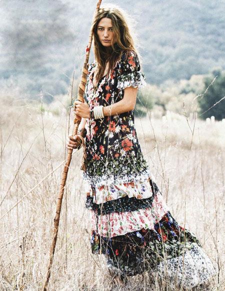 Chọn phong cách thời trang hippie cho mùa hè! - 4
