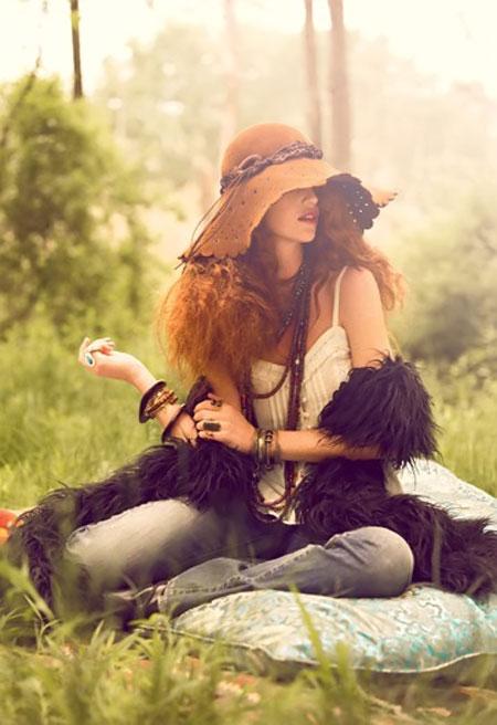 Chọn phong cách thời trang hippie cho mùa hè! - 11
