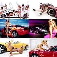 """Hot girl """"đọ sắc"""" cùng siêu xe"""