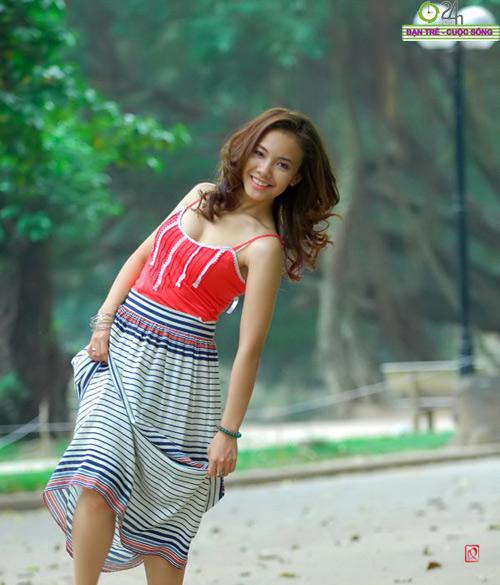 Nguyễn Miền Biên Thùy xinh tươi cùng sắc hạ - 20