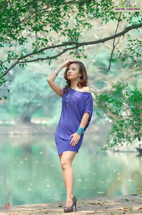 Nguyễn Miền Biên Thùy xinh tươi cùng sắc hạ - 6