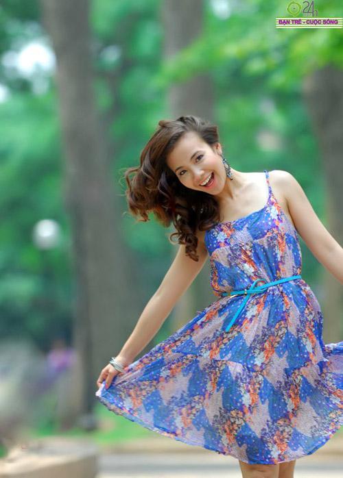 Nguyễn Miền Biên Thùy xinh tươi cùng sắc hạ - 9