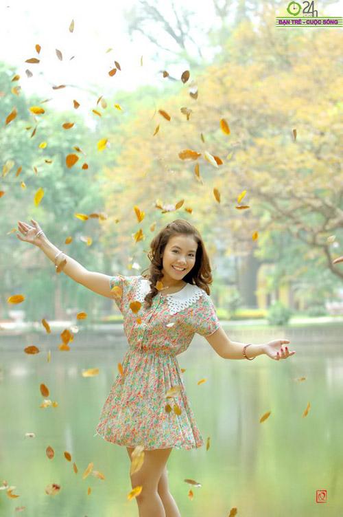 Nguyễn Miền Biên Thùy xinh tươi cùng sắc hạ - 10