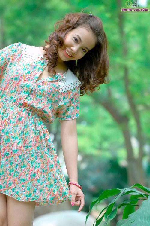 Nguyễn Miền Biên Thùy xinh tươi cùng sắc hạ - 12