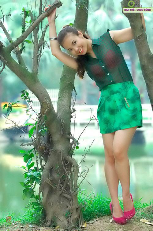 Nguyễn Miền Biên Thùy xinh tươi cùng sắc hạ - 19