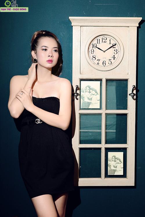 Hot girl Sài thành khoe vòng một căng đầy - 15
