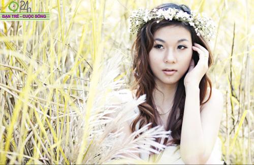 Hot girl Giang Hà dịu dàng giữa thiên nhiên - 6