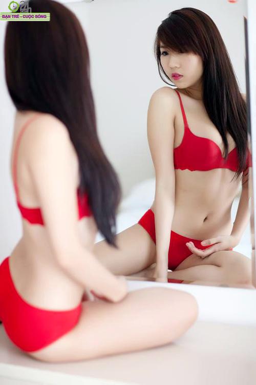 Nu Phạm nồng nàn sắc đỏ đón giáng sinh - 9