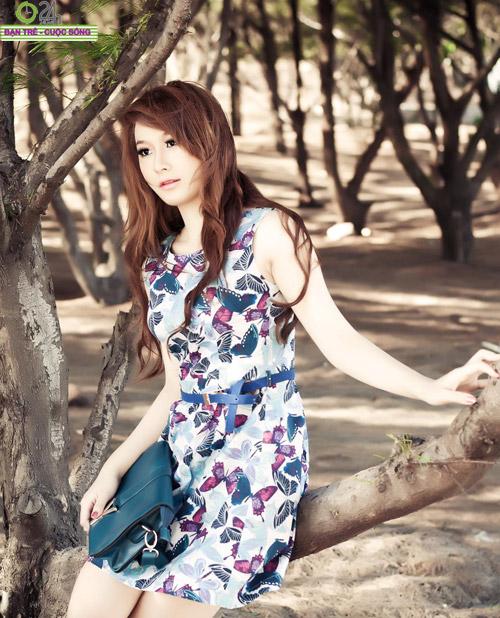 Hot girl Sâu Xinh dịu dàng trước biển - 17