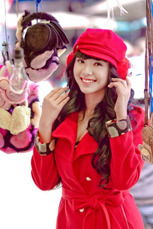 Tứ đại hot girl Việt rạng rỡ cùng sắc đỏ - 7