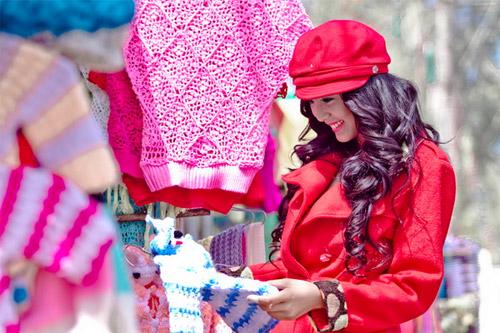 Tứ đại hot girl Việt rạng rỡ cùng sắc đỏ - 8