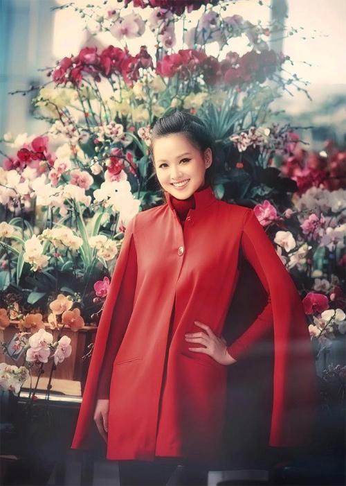 Tứ đại hot girl Việt rạng rỡ cùng sắc đỏ - 14
