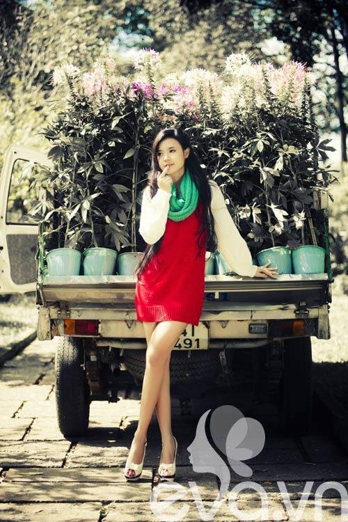 Tứ đại hot girl Việt rạng rỡ cùng sắc đỏ - 20