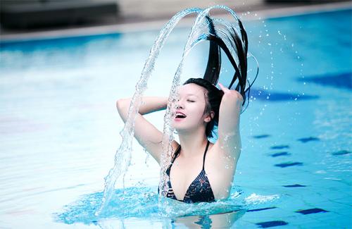 Miss Teen Thu Hà nóng bỏng với bikini - 6